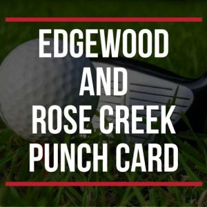 Edgewood and Rose Creek Punch Card