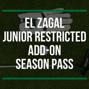 El Zagal Junior Restricted Add-On Season Pass