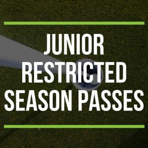 Junior Restricted Season Passes