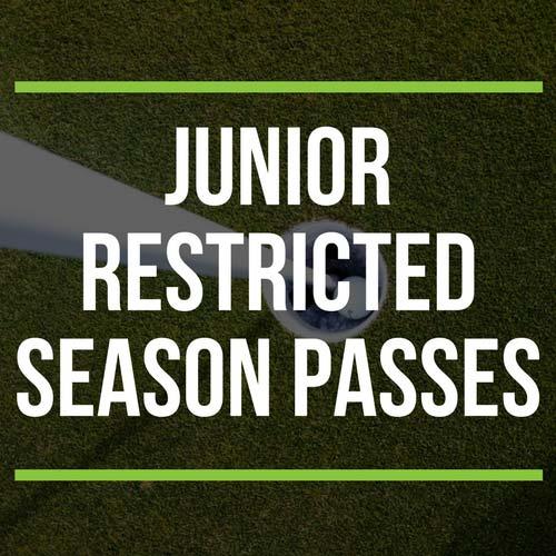 Junior Restricted Season Passes