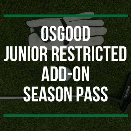 Osgood Junior Restricted Add-On Season Pass