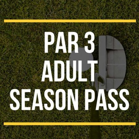 Par 3 Adult Season Pass