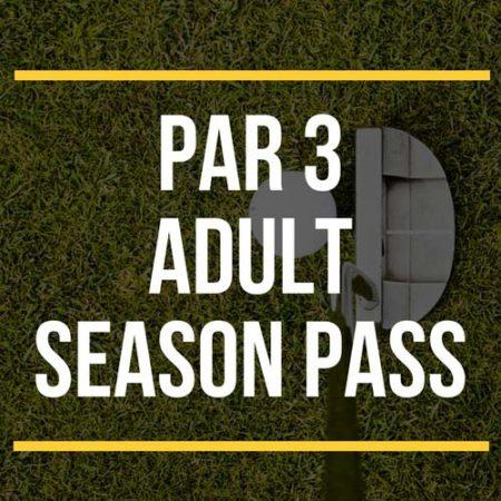 Par 3 Adult Season Pass