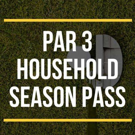 Par 3 household season pass