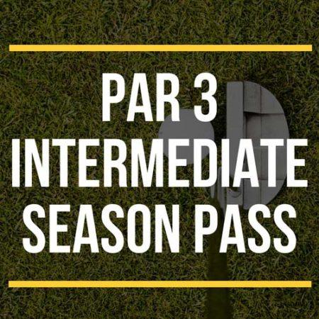 Par 3 Intermediate Season Pass