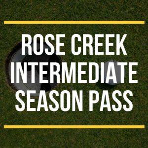 Rose Creek Intermediate Season Pass