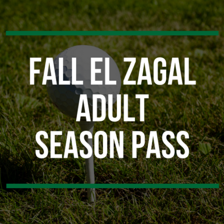 Fall El Zagal Adult Season Pass