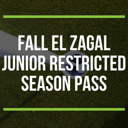 FALL El Zagal Junior Restricted Season Pass