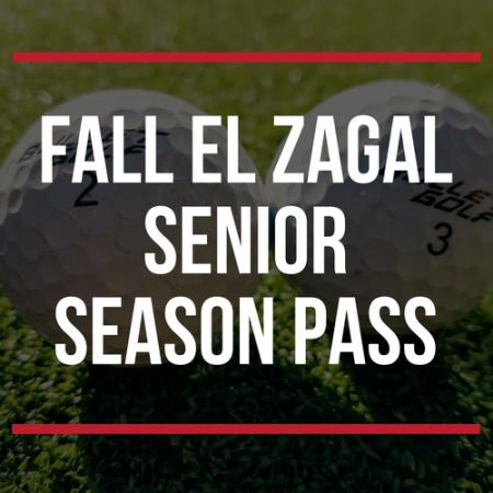 FALL El Zagal Senior Season Pass
