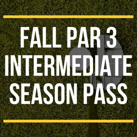 FALL Par 3 Intermediate Season Pass