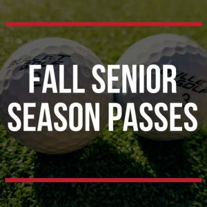 FALL Senior Season Passes