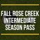 FALL Rose Creek Intermediate Season Pass